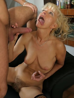 Free Cum on Moms Face Porn Pictures